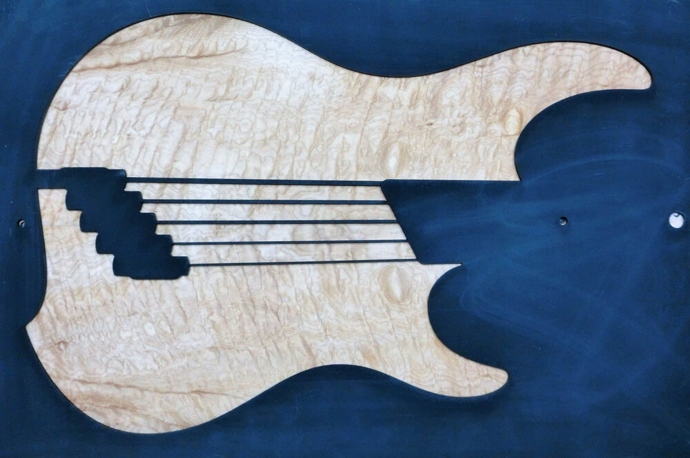 1225 Quilted Maple