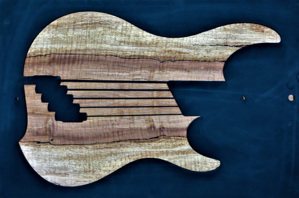 1284 Spaulted Flame Maple