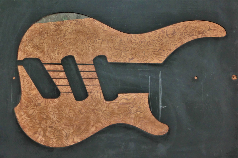 1341 One-Piece Flatsawn Redwood - AB Only